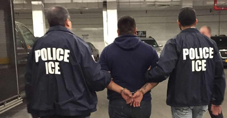 ICE Police immigration raids