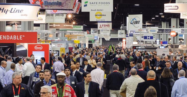 IPPE trade show floor