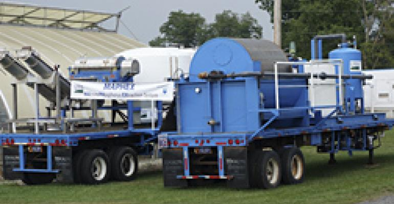 ARS mobile manure treatment system