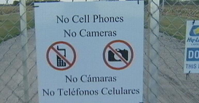 no cell phone picture ag gag laws