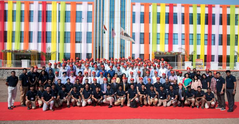 Alltech officially opened its state-of-the-art manufacturing plant in Pune, India, on Oct. 27.