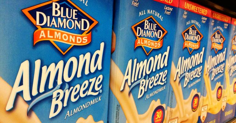 almond milk, non-dairy, plant-based drinks