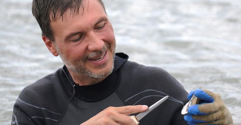 Auburn University marine scientist Bill Walton