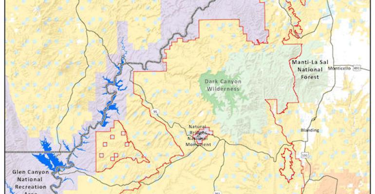 Bears Ears final map monument designation