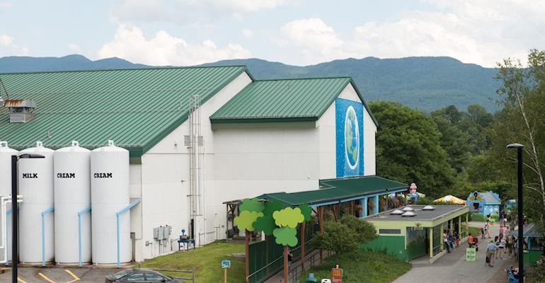 Ben & Jerry's ice cream factory in Waterbury, Vermont