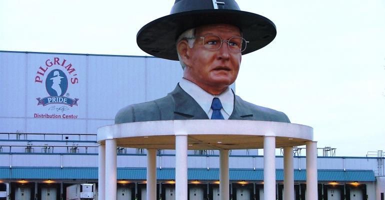 Bo Pilgrim statue