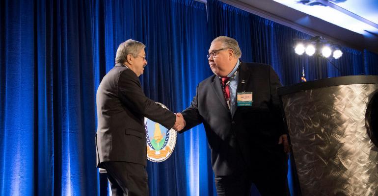 China ambassador nominee Gov. Terry Bransad and Sam Clovis