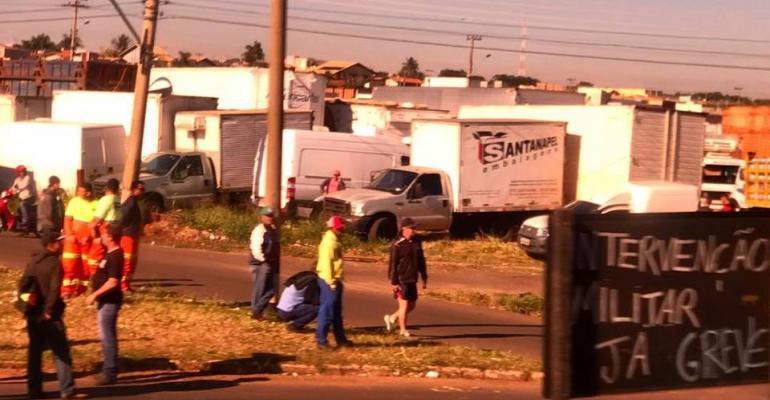 Brazil trucker strike