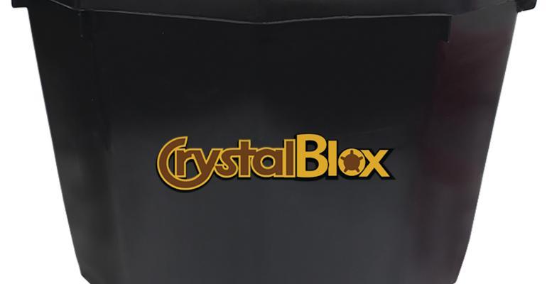 CrystalBlox side view