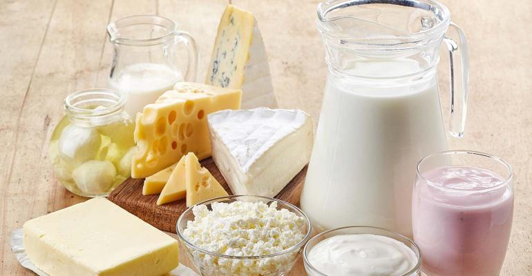 Dairy product assortment