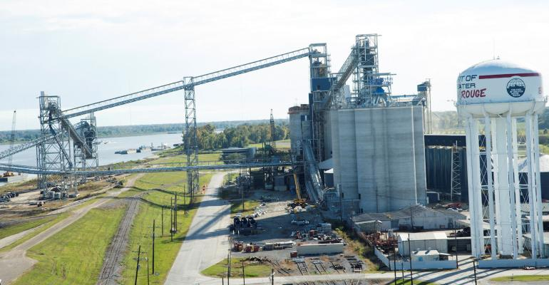 grain elevator Mississippi River