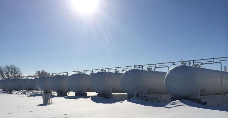 Growmark propane tanks