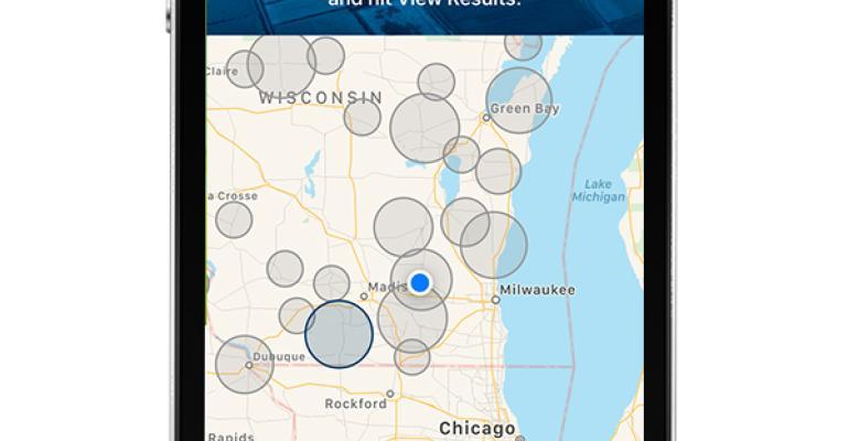 InField Updates map