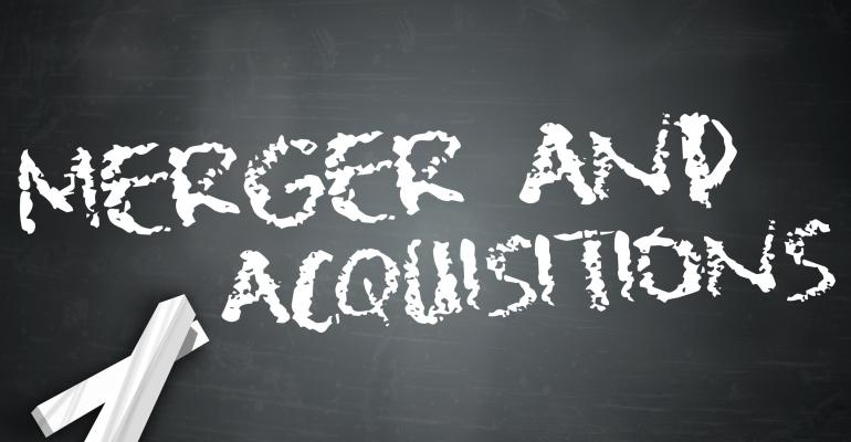 Merger and acquisitions on blackboard