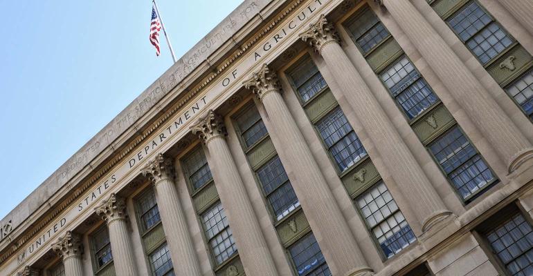 The USDA building in Washington DC.
