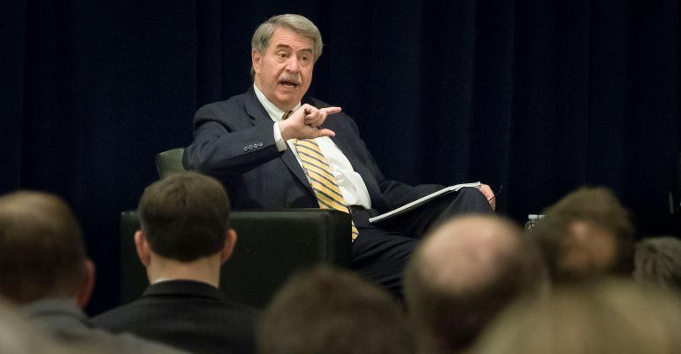 USDA trade undersecretary Ted McKinney speaks at Ag Outlook Forum
