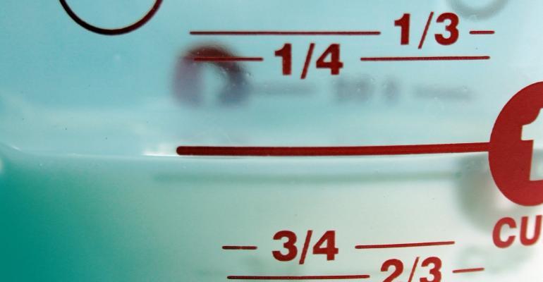Measuring milk