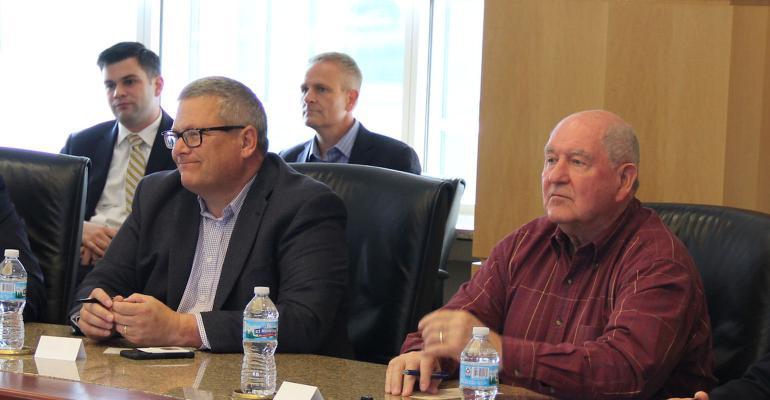 Iowa Ag Secretary Bill Northey and US Secretary Sonny Perdue