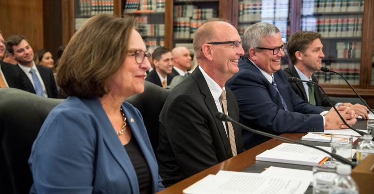 Sen. Fischer introduces USDA nominee Greg Ibach and Bill Northey