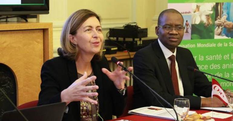 OIE director general Monique Eloit