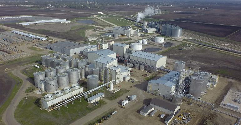 POET Emmetsburg cellulosic ethanol aerial photo
