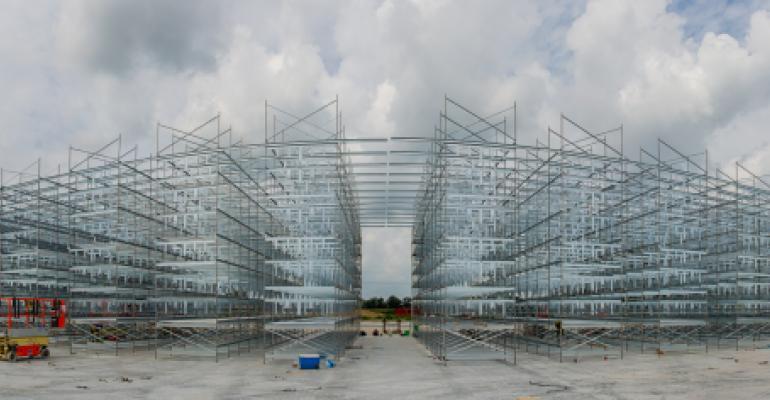 Panorama of WTE build