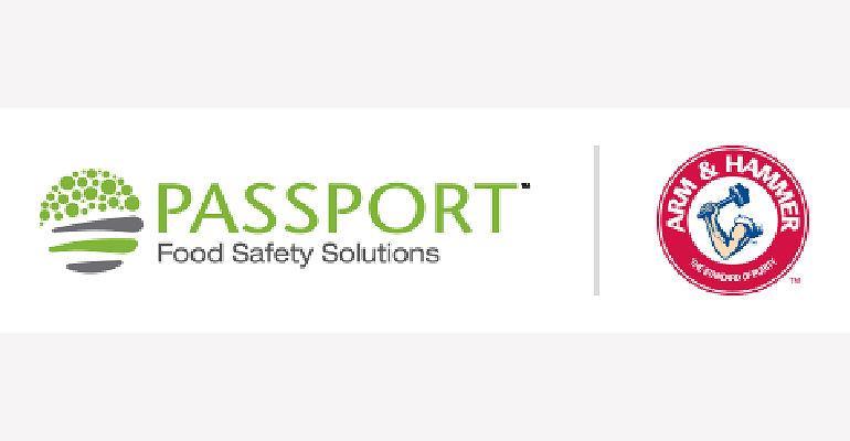 Passport and Arm & Hammer logo