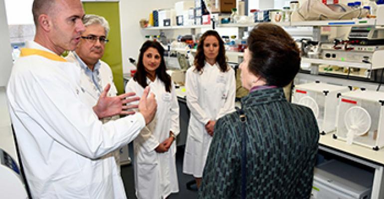 lab tour at Pirbright Institute
