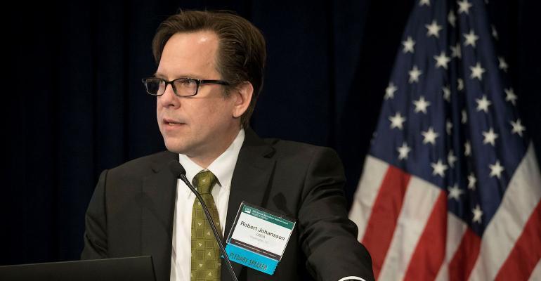 USDA chief economist Robert Johansson speaks at USDA Ag Outlook Forum