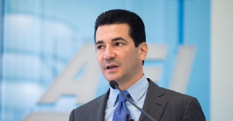 New FDA chief Scott Gottlieb