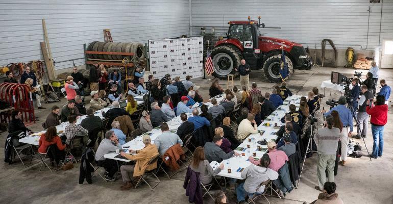 Sec Perdue hosts town hall meeting to reveal farm bill principles