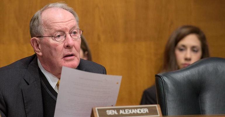 Sen. Lamar Alexander at ADUFA hearing
