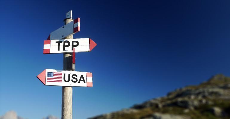 Signpost TPP trade