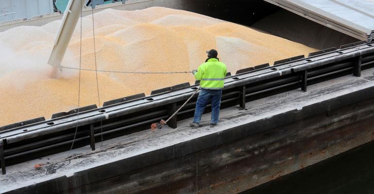 corn barge