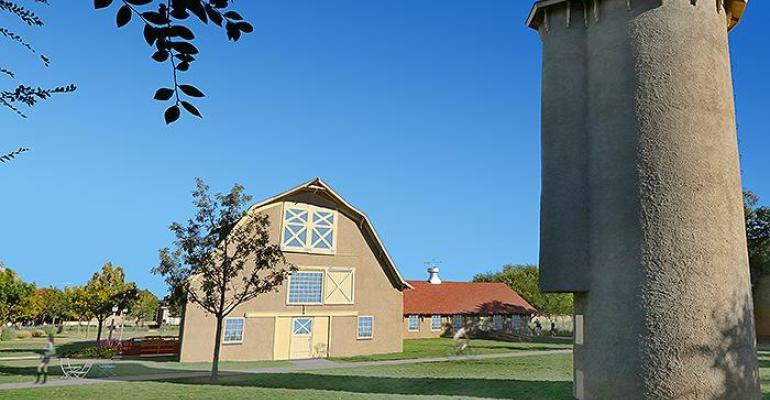 Historic Texas Tech Dairy Barn