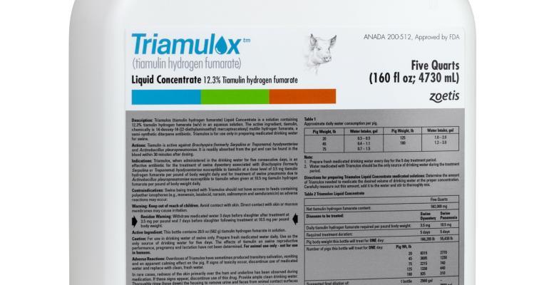 Triamulox five-quart bottle