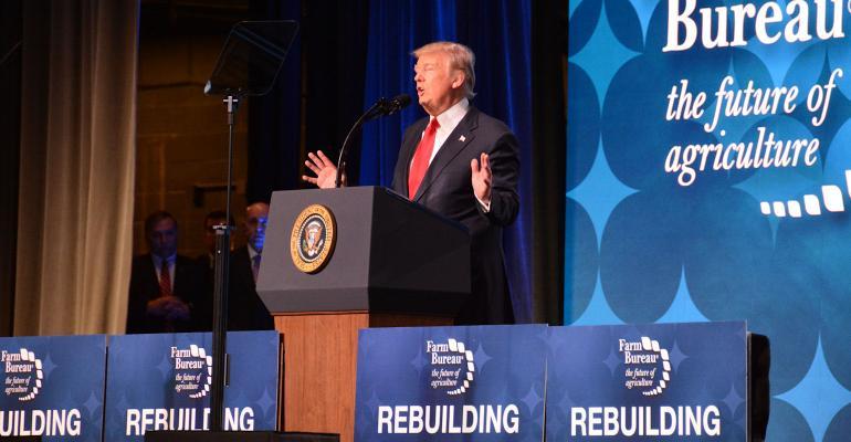 Trump speaks to AFBF farmers