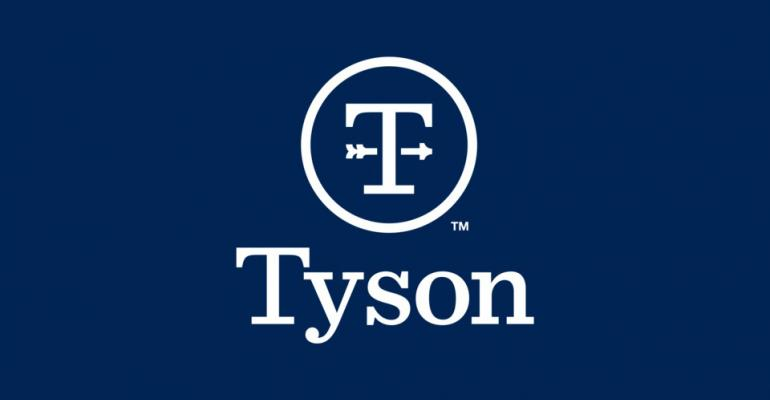 Tyson Foods blue logo horizontal