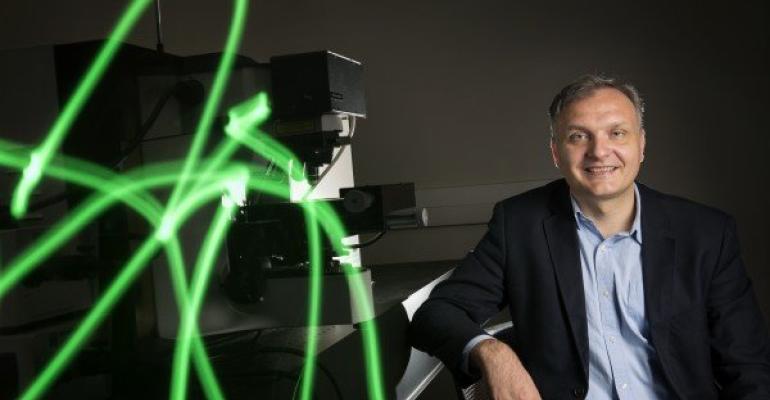Dr. Alexandru Biris, director of the UA Little Rock Center for Integrative Nanotechnology Sciences, who helped develop a nanomaterial bone regeneration technology