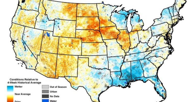Drought Monitor-QuickDRI map