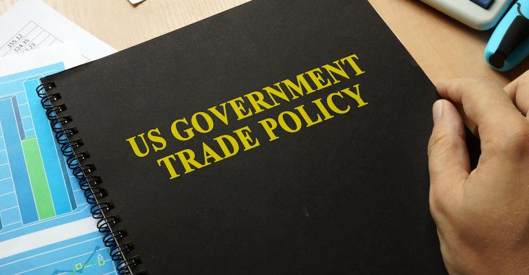 U.S. government trade policy book