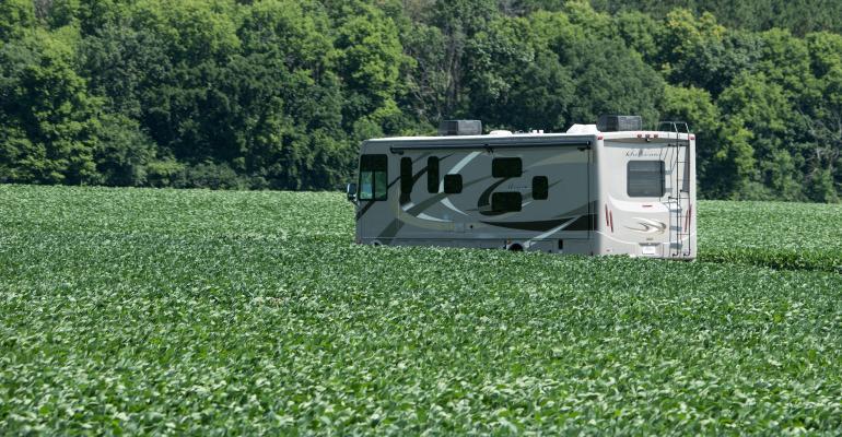 Secretary Perdue RV tour