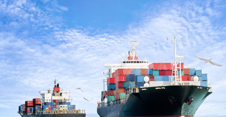 cargo ship-container ship