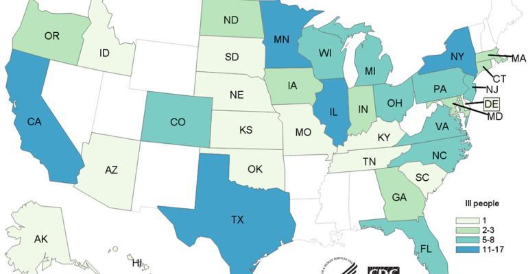 cdc map salmonella turkey Nov 5