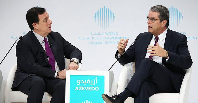 WTO Director-General Roberto Azevêdo visited Dubai