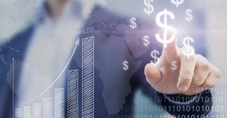 financial business money concept