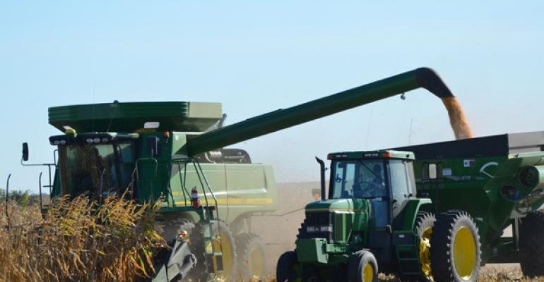2012 corn harvest at Lawton Farms Jefferson Iowa