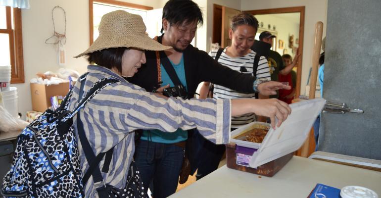 Japanese media beef tour
