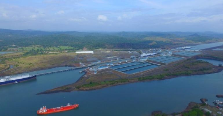 neopanamax panama canal expanded