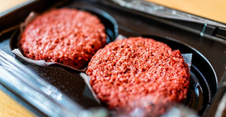 plant-based burger patties_FDS_krblokhin_iStock_Getty Images-1168766958.jpg